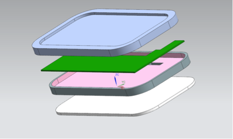 phablet cad model - MBE for electronics